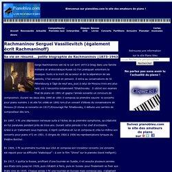 Rachmaninov - pianobleu.com