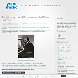 Rachmaninov Piano Concerto No 2 Royalty Free