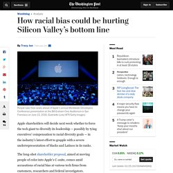 How racial bias could be hurting Silicon Valley's bottom line