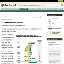 Views of racial inequality in America