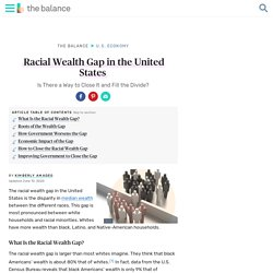 Racial Wealth Gap: Statistics, Causes, How to Close It