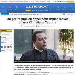 Un prêtre jugé en appel pour injure raciale envers Christiane Taubira