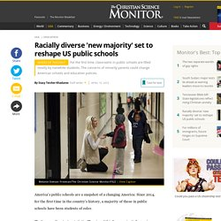 Racially diverse 'new majority' set to reshape US public schools
