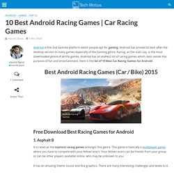Best Racing Games for Android Free Download (Car / Bike)