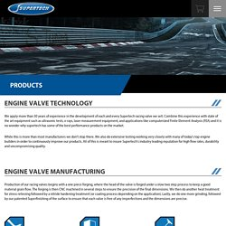 Racing Engine Valves - Supertech Performance