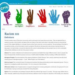 Racism 101