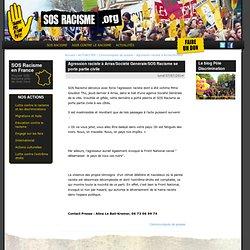 SOS RACISME Agression raciste à Arras/Société Générale/SOS Racisme se porte partie civile