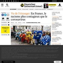 En France, le racisme plus contagieux que le coronavirus