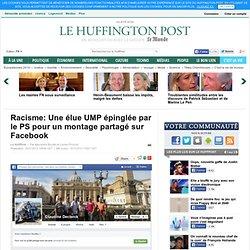 Racisme: Une élue UMP épinglée par le PS pour un montage partagé sur Facebook