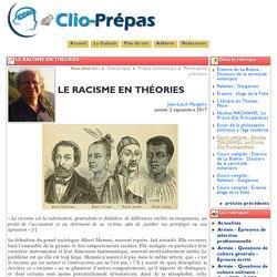 LE RACISME EN THÉORIES - Clio Prépas