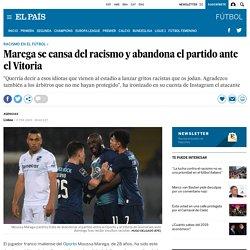 El jugador del Oporto Moussa Marega abandona el partido ante el Vitoria de Guimaraes por insultos racistas
