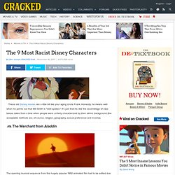 The 9 Most Racist Disney Characters