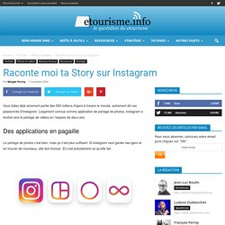 Raconte moi ta Story sur Instagram