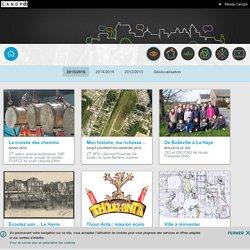 Raconte ta ville-réseau Canopé-2015/2016