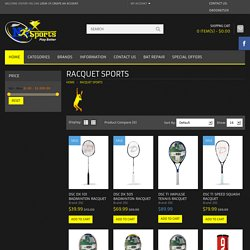 Racquet Sports Specification: Light Weight Extra Power Perfect Balance Exceptional Feel Maximum Comfert
