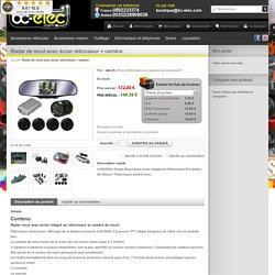 Radar de recul avec écran rétroviseur + caméra,djm35 sur bc-elec.com