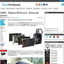 AMD - Radeon R9 Fury X - Revue de presse