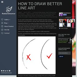 How to Draw Better Line Art