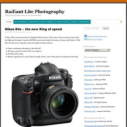 Radiant Lite Photography — Digital photography guide, news and discussion