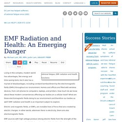 EMF Radiation and Health: How to Mitigate an Emerging Household Danger