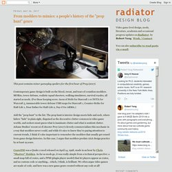 """Radiator Blog: From modders to mimics: a people's history of the """"prop hunt"""" genre"""