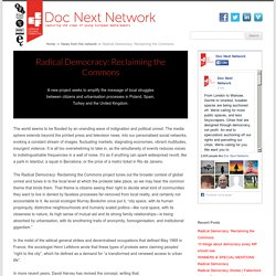 Radical Democracy: Reclaiming the Commons - Doc Next Network