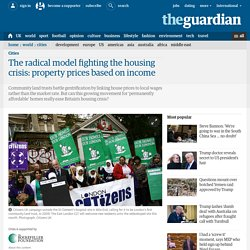 The radical model fighting the housing crisis: property prices based on income