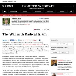 The War with Radical Islam by Jeffrey D. Sachs