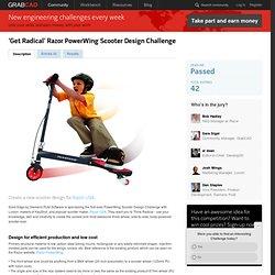 'Get Radical' Razor PowerWing Scooter Design Challenge