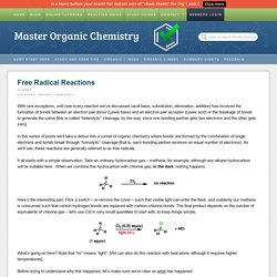 Free Radical Reactions — Master Organic Chemistry
