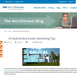 35 Radical Real Estate Marketing Tips