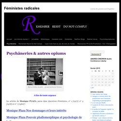 Psychâneries & autres opiums