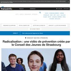 Radicalisation : une vidéo de prévention créée par le Conseil des Jeunes de Strasbourg