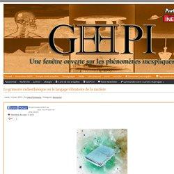 Le grimoire radiesthésique ou le langage vibratoire de la matière - www.geepi.fr