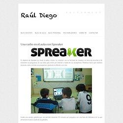 Una radio en el aula con Spreaker
