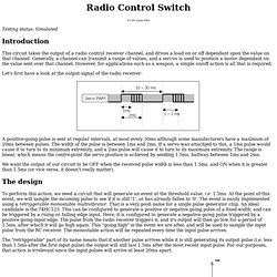 Radio Control Switch