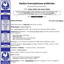 Radio francophone en direct