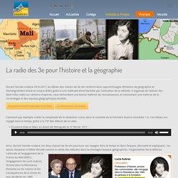 La radio des 3e pour l'histoire et la géographie – Immac BTZ