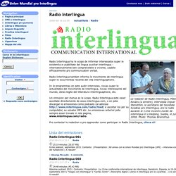Union Mundial pro Interlingua
