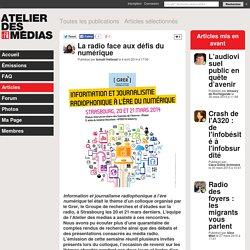La radio face aux défis du numérique