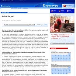 Infos du jour - 27-03-2015 19:58