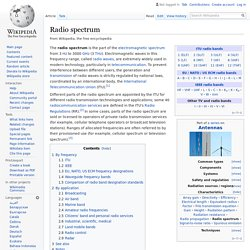 Radio spectrum - Wikipedia