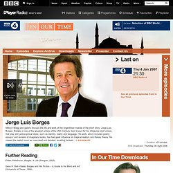 BBC Radio 4 - In Our Time, Jorge Luis Borges