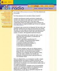 Radio - Una emisora en la escuela