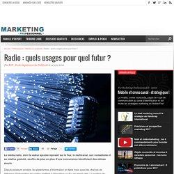 Radio : quels usages pour quel futur