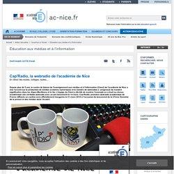 Cap'Radio, la webradio de l'académie de Nice