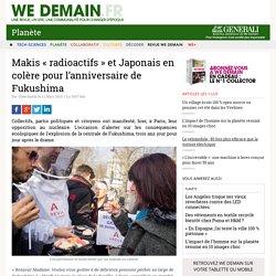 Makis « radioactifs » et Japonais en colère pour l'anniversaire de Fukushima