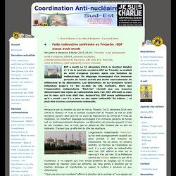 Fuite radioactive confirmée au Tricastin : EDF avoue avoir menti