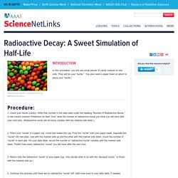 Radioactive Decay: A Sweet Simulation of Half-Life