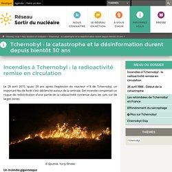 Incendies à Tchernobyl: la radioactivité remise en circulation